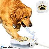 Scuddles Dog Water Fountain Step On Toy – Paw Petal Activated Dog Water...