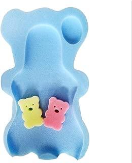 Kleinkind TRER Baby Color : Pink weiche Badeschwamm Sitz Anti-Rutsch-Schaum-Matte K/örper Unterst/ützung Sicherheit Kissen Pad