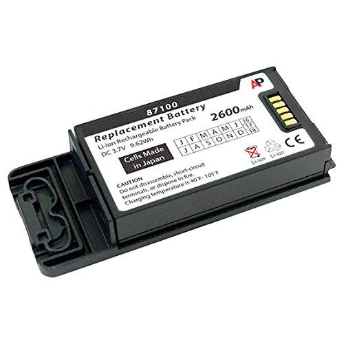 Artisan Power SpectraLink Pivot 8741, 8743, 8753, PBK87410 & PBL87410: Replacement Battery. 2600 mAh (Black)