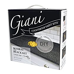 top rated Jani countertop paint set, black bombay 2021