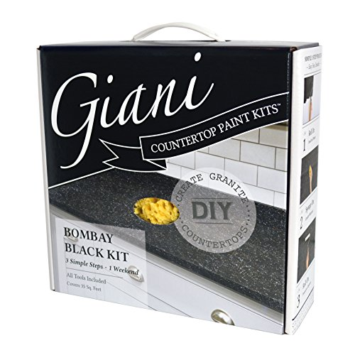 Giani Countertop Paint Kit, Bombay Black