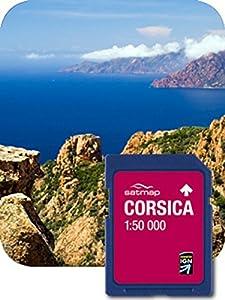 Satmap  Sistema GPS con Cartina della Francia Corsica Scala 1 50000