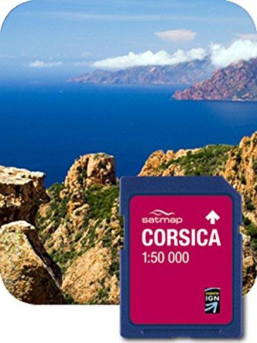 Satmap Carte GPS France et Corse - Echelle 1:50000 - FR-CY-50-SD-006