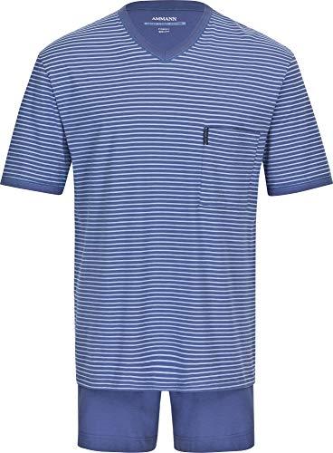 Herren Schlafanzug kurz Extra Light Cotton polo 56