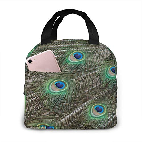 Licht Saber DUN Pea - Feathers Lunch Bag herbruikbare lunchbox lunch Cooler Tote