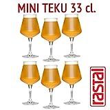 Rastal - 6 verres pack modèle MINI TEKU - 33 cl (11,6 Imp.fl.oz.) - Pour la dégustation de bière universelle