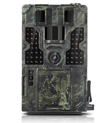 Clobo Trail Game Camera 16MP 1080P Waterproof Hunting Scouting Cam Wildlife Monitoring 130° Detection with 0.2s Trigger Speed 2.4' LCD IR LEDs IP55 Waterproof Design for Wildlife Hunting