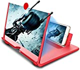 MSENT Screen Expanders & Screen Magnifier Amplifier,3D Sun Gllas HD New Phone Holder 17' Screen Amplifier,Movies,Videos,Games Movie Video Phone Foldable Stand Screen Phone Projector for All Smartphones Sun Gllas