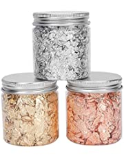 Goud Zilver Folie Vlokken voor Nagels Glitters Manicure Pailletten