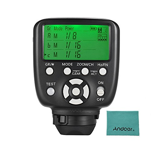 YONGNUO YN560-TX II Manual Flash Trigger Remote Controller LCD Transmitter for Nikon DSLR Camera to YN560III/YN560IV/YN660/YN968N/YN860Li Speedlite RF-602/RF603/RF603 II/RF605 Receiver