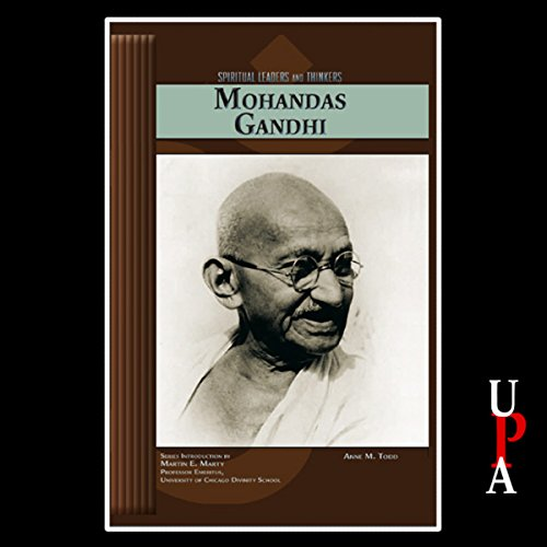 Mohandas Gandhi audiobook cover art