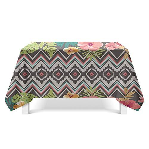DREAMING-National Wind Muster Kunst Tischdecke Haushalt Tischdecke Tv-Schrank Couchtisch Tuch Runden Tisch Tischset 140cm * 140cm