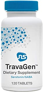 NeuroScience TravaGen - Mood Supplement with L-Tryptophan L-Theanine, Folate, Magnesium, Vitamin B6 + B12 - Helps Promote ...