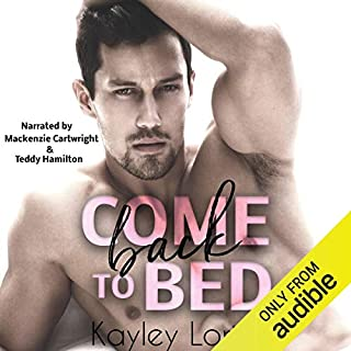 Come Back to Bed audiobook cover art