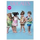 McCall's M6541 YA5 - Patrones de Costura para Ropa Infantil (Vestidos y Pantalones, Tallas de recién Nacido a XL, hasta 81 cm, Instrucciones en inglés y alemán)