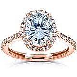 Best Kobelli Moissanite Wedding Rings - Kobelli Oval Moissanite Halo Engagement Ring 2 1/4 Review
