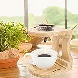 Molinillo de café Filtro de ponche de café Ponche de café de madera Fácil para regalo casero