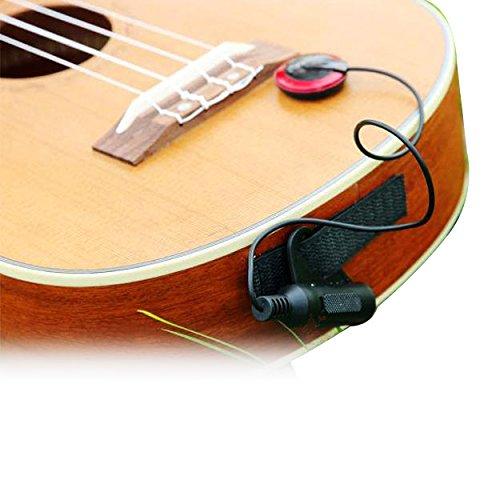 Mehrzweck-Universal Gitarren-Tonabnehmer, Elektronische Tonabnehmer für Gitarre, Ukulele, verschiedene akustische Instrumente wie Gitarre, Geige, Mandoline usw.