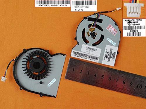 Kompatibel für HP Probook 430 G1, 430G1, 470 G1 Lüfter Kühler Fan Cooler
