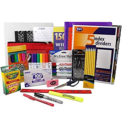 Essential School Supply Kit for Fourth and Fifth Grade Students by EPI