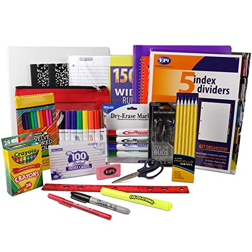 Essential School Supply Kit for Fourth and Fifth Grade Students