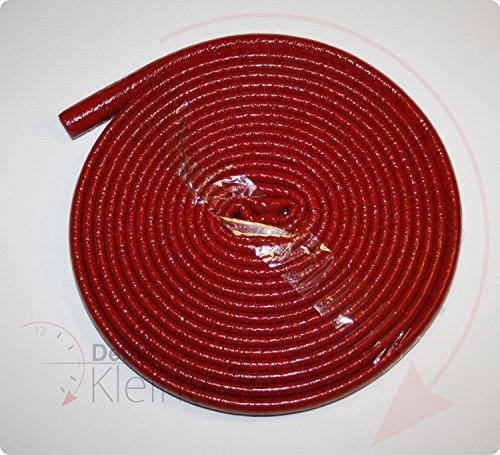 Deine-Kleinteile-24 22/6 Rot 10m Rolle - 0,55Euro/m - Rohrisolierung Isolierschlauch PE-Schaum Isolierung Rohr Mehrschichtverbundrohr