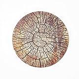 Yarmy Rompecabezas de Madera, patrón de árbol, Piezas de Rompecabezas de Forma única de Alta dificultad, patrón Atractivo, Adultos y niños 28x28 cm