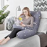 Almohada para el Embarazo Almohada de Maternidad en Forma de U Algodon...