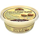 OKAY African Shea Butter Smooth Yellow 7.5 Oz