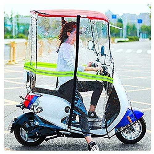 CXQD Cubierta de sombrilla de Motocicleta eléctrica Universal,Sombrilla de Movilidad y Cubierta de Lluvia Impermeable