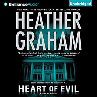 Heart of Evil     Krewe of Hunters Trilogy, Book 2              By:                                                                                                                                 Heather Graham                               Narrated by:                                                                                                                                 Luke Daniels                      Length: 8 hrs and 18 mins     732 ratings     Overall 4.1