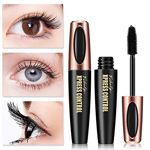 Rabusion New for VIBELY Waterproof Mascara Long Curling Extension Eyelashes Micro Eye Makeup Cosmetics