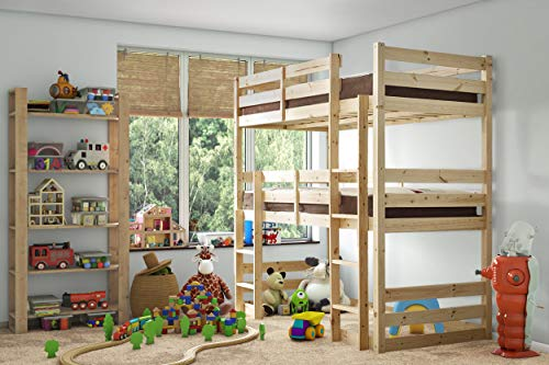 Strictly Beds and Bunks - Fusion Raised Twin Sleeper, 3ft Single
