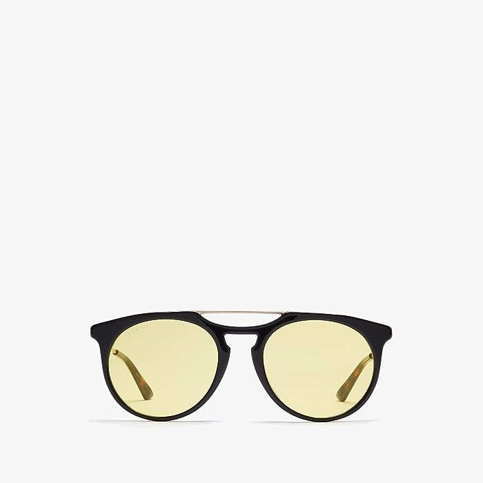 Gucci  GG0320S (Gold/Dark Havana 2) Fashion Sunglasses