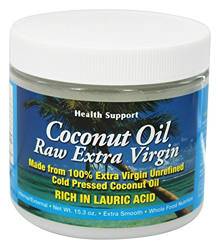 Health Support Raw Coconut Oil 15.3 fl oz by Health Support