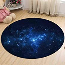 Carpet Bedroom Bedside Flannel Round Rugs Living Room Study Non-Slip Coffee Table Computer Chair Pad,4,120cm