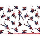 Baumwollstoff, Disney Motive - Spiderman als Meterware zum