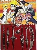 YinXX Naruto Épée À La Main, sans Accessoires, Arme, Ensemble de 7...