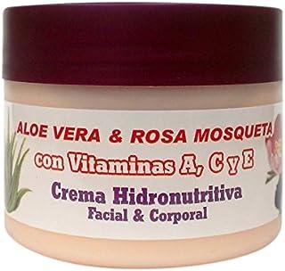 Bionatural 11320 - Crema hidronutritiva facial y corporal con aloe rosa mosqueta y vitaminas 250 ml