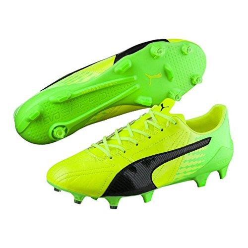 Puma Evospeed 17 SL K LTH FG - Scarpe da ginnastica, colore: Giallo, Giallo (giallo.), 46.5 EU