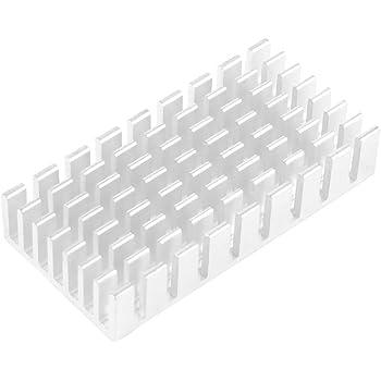 uxcell メモリクーラーヒートシンクフィン ヒートシンク フィン 冷却 熱伝達 50x25x10mm 加熱処理