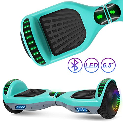 Review Of SISIGAD Hoverboard for Kids, Two Wheels Self-Balancing Hover Board with Bluetooth Speaker
