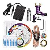 SUPVOX Rotary tattoo machine gun kit liner shader tattoo motor machine beginners tattoo kit tattoo supplies