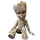 Action Figures Avengers Giocattoli - da collezione Bambola Mini Marvel Super Hero Albero uomo Groot figura di azione The Avengers modello PVC for bambini giocattolo regalo di natale 6CM piccolo e squi
