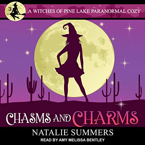 Chasms and Charms     Witches of Pine Lake Paranormal Cozy Series, Book 3              By:                                                                                                                                 Natalie Summers                               Narrated by:                                                                                                                                 Amy Melissa Bentley                      Length: 11 hrs and 59 mins     1 rating     Overall 4.0