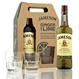 Jameson Irish Whisky with 2 Glasses - 1 Pack
