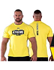 FA WEAR Koszulka - Xtreme z dubbele hals - geel - L