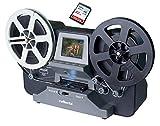 SUPER 8 Scanner (bis 12,5 cm Spulen), Reflecta Super 8 - Normal 8 Filmscanner, Super 8 digitalisieren, inkl. 32 GB Speicherkarte & Erklärungsvideo