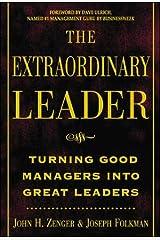 The Extraordinary Leader Hardcover