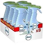 Febreze Igiene Spray Deodorante per Tessuti, Eliminatore di Odori di Animali, Maxi Formato, 8 x 500 ml